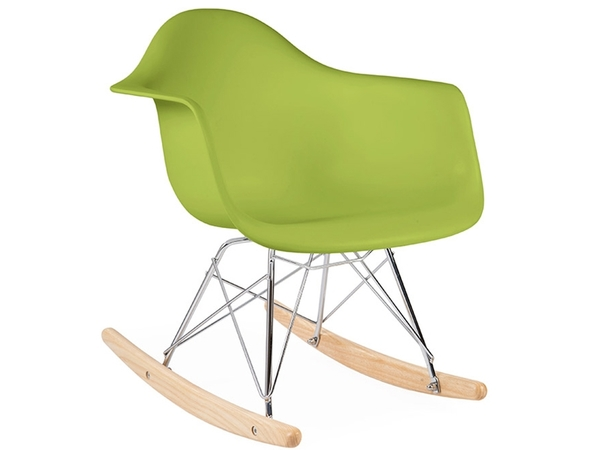 Eames rocking chair RAR bambino - Verde
