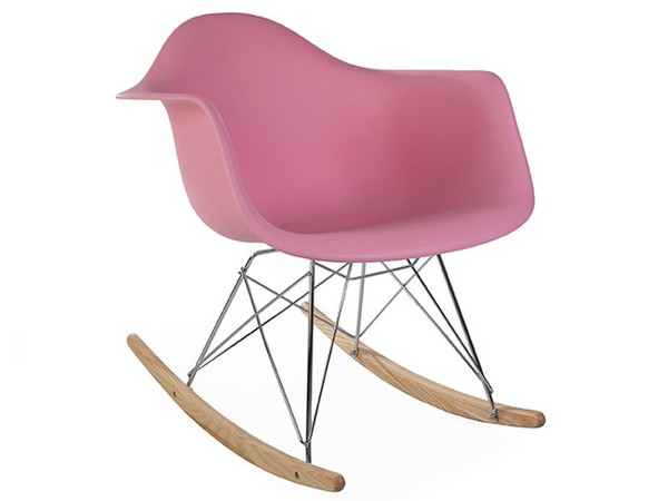 Eames rocking chair RAR - Rosa