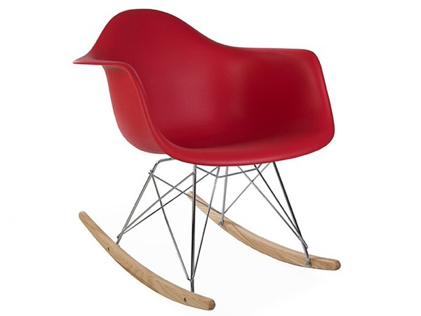 Eames Rocking Chair RAR - Rosso