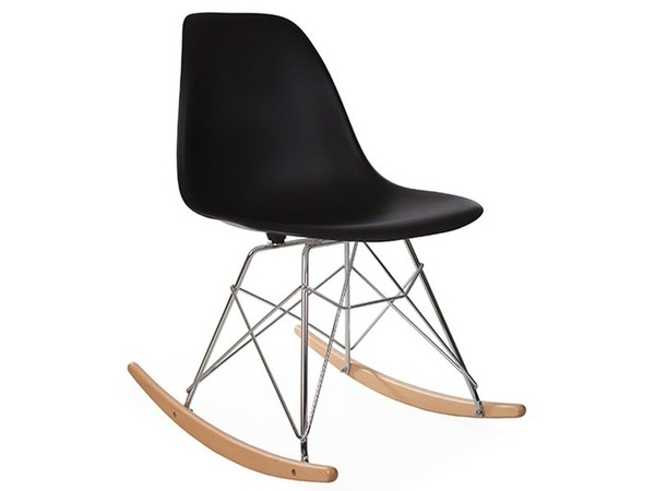 Eames Rocking Chair RSR - Nero