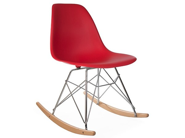 Eames Rocking Chair RSR - Rosso