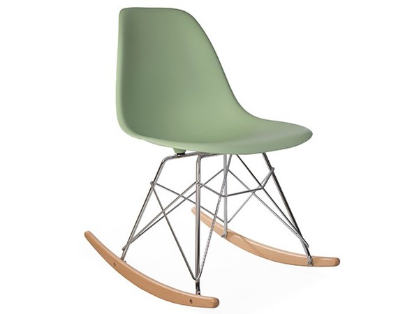 Eames Rocking Chair RSR - Verde