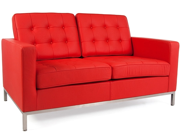 Lounge Knoll 2 Posti - Rosso